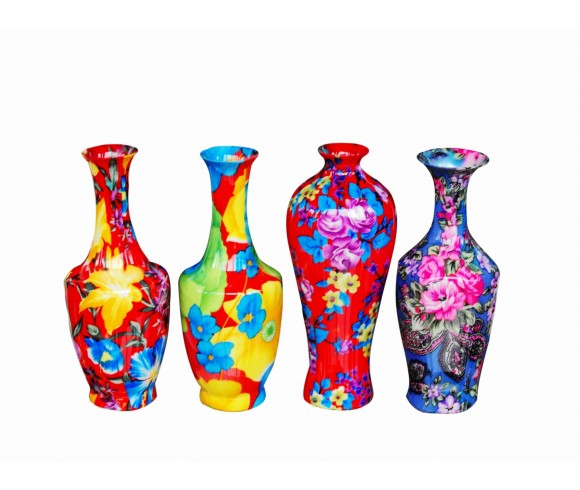 Colour Glaze Porcelain Vase Set